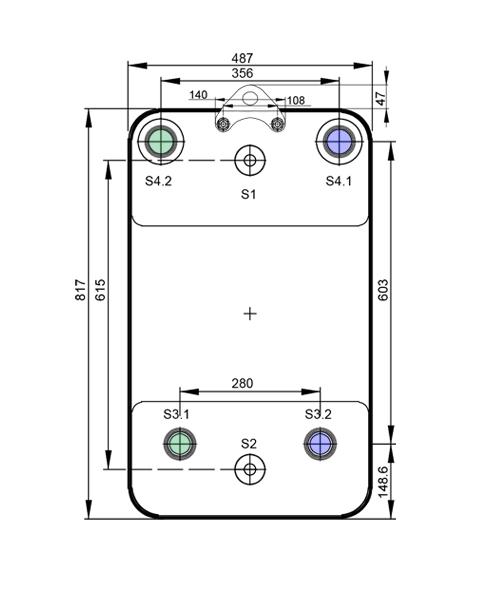 Теплообменник Alfa-Laval AC1000DQ, ACH1000DQрис. № 3