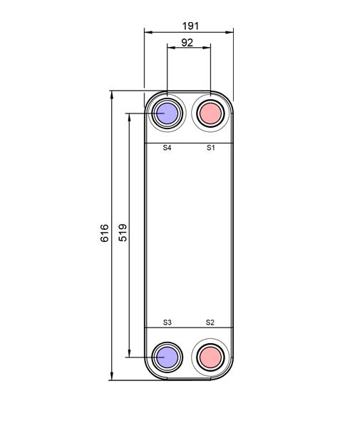 Теплообменник Alfa-Laval CB112, CBH112, CBXP112рис. № 2