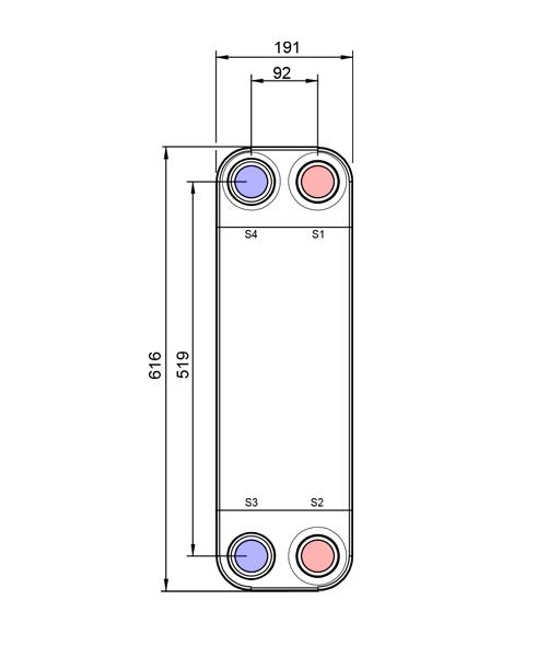 Теплообменник Alfa-Laval AC220EQ, ACH220EQрис. № 2