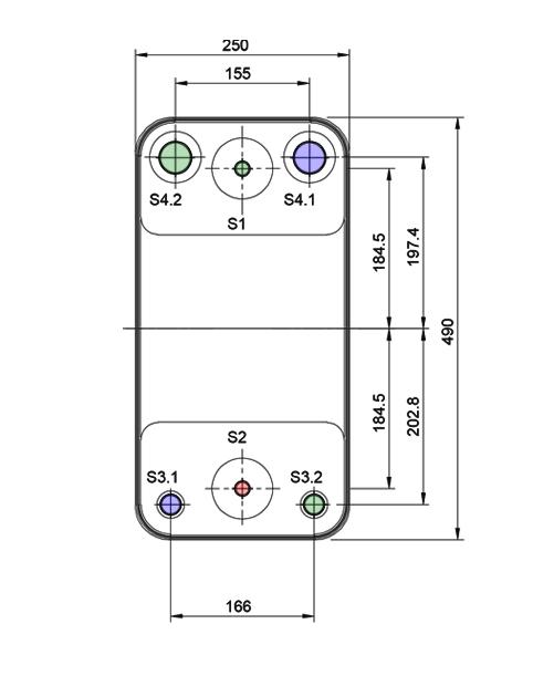 Теплообменник Alfa-Laval AC230DQ, ACH230DQрис. № 2