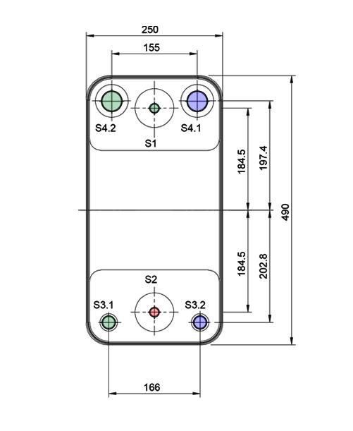 Теплообменник Alfa-Laval AC232DQ, ACH232DQрис. № 2