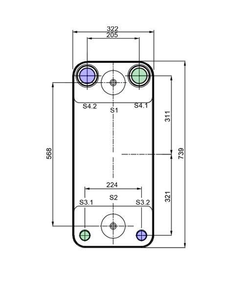 Теплообменник Alfa-Laval AC500DQ, ACH500DQрис. № 2