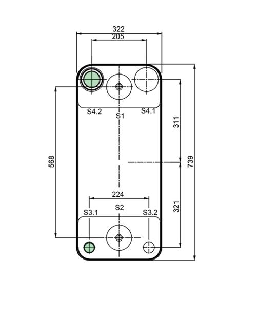 Теплообменник Alfa-Laval AC500EQ, ACH500EQрис. № 2