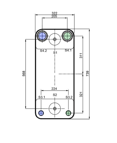Теплообменник Alfa-Laval AC502DQ, ACH502DQрис. № 3