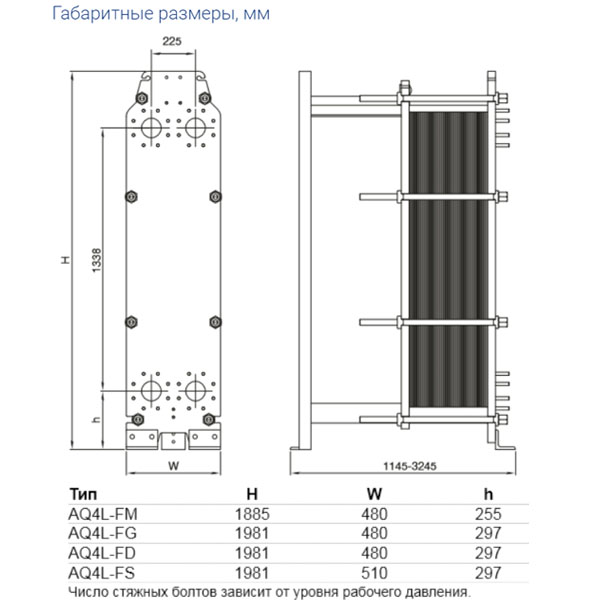 Теплообменник Alfa-Laval AQ4Lрис. № 2