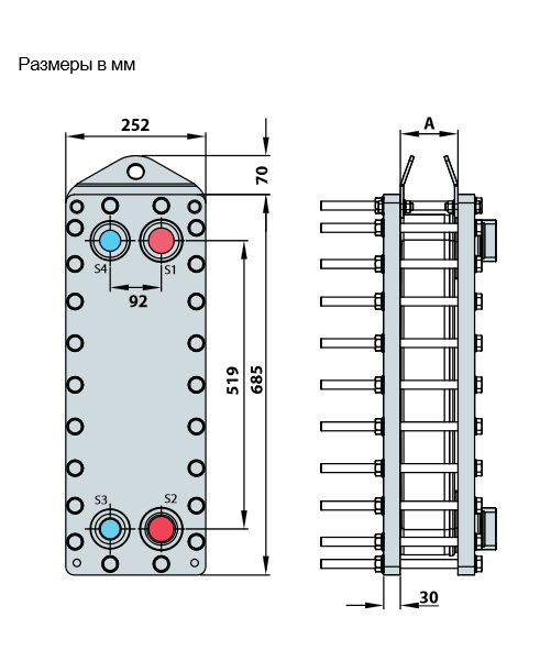 Теплообменник Alfa-Laval AXP112рис. № 2