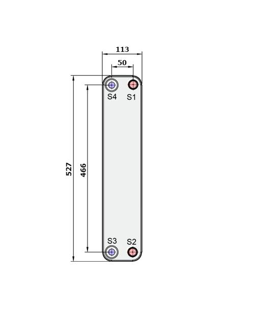 Теплообменник Alfa-Laval CB60, CBH60рис. № 2