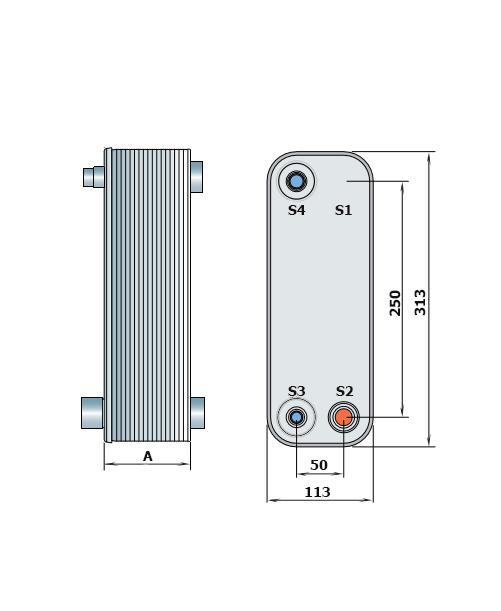 Теплообменник Alfa-Laval CD200рис. № 2