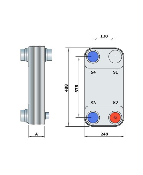 Теплообменник Alfa-Laval CD300рис. № 2