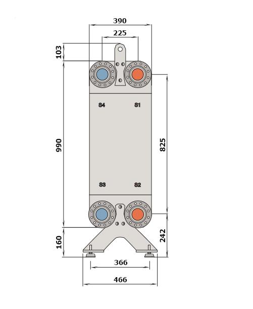 Теплообменник Alfa-Laval CB400рис. № 2