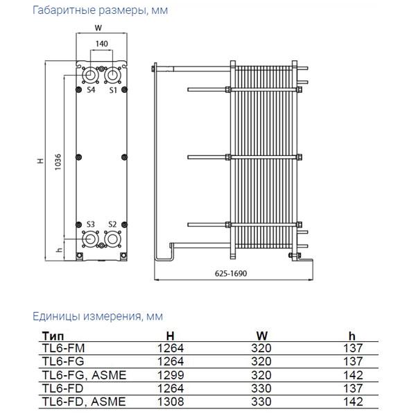Теплообменник Alfa-Laval TL6рис. № 2