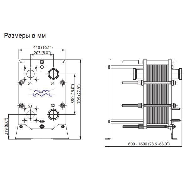 Теплообменник Alfa-Laval M line TS6рис. № 2