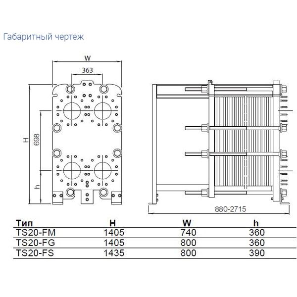 Теплообменник Alfa-Laval TS20рис. № 2